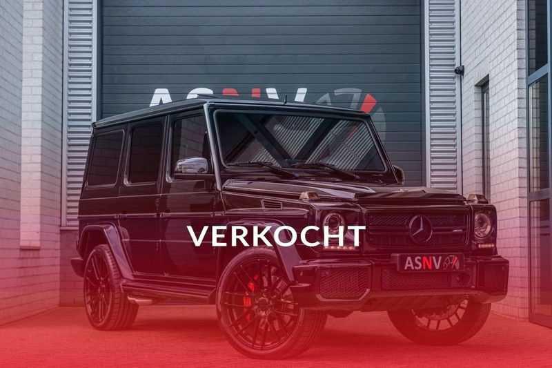 Mercedes-Benz G-Klasse 63 AMG, 571 PK, Full/Black Optiek, Schuif/-Kanteldak, TV, Harman/Kardon, Designo leder, Distronic, 57DKM!!! afbeelding 25