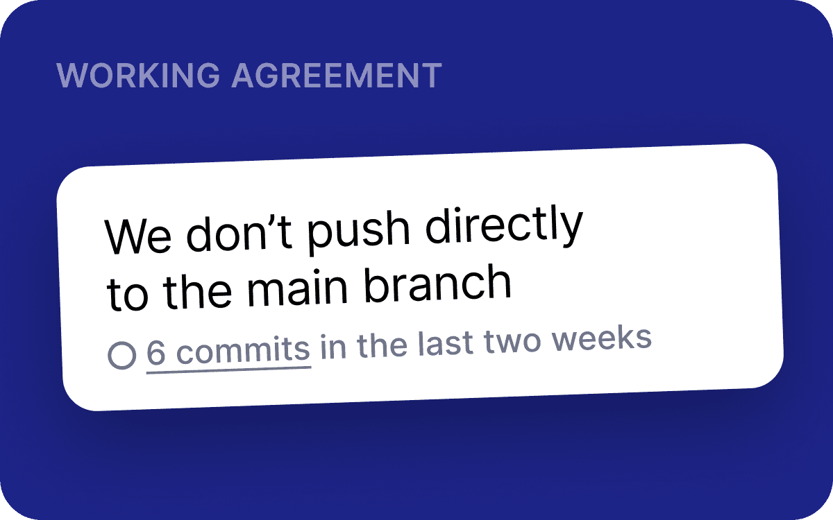 New working agreement: we don't push directly to the main branch