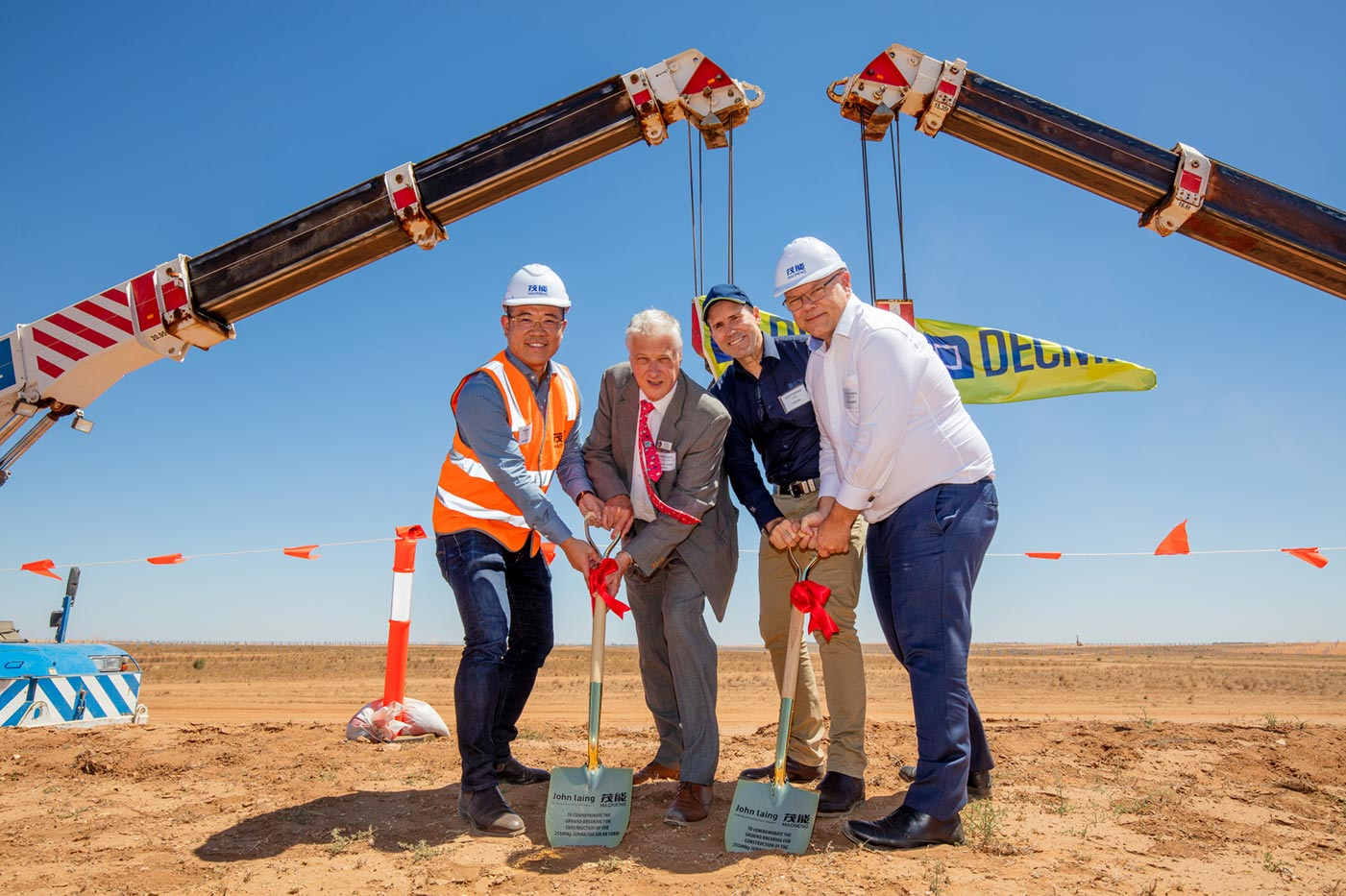 Sunraysia Solar Farm Ground Breaking