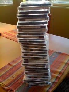 Pile of Zip Disks