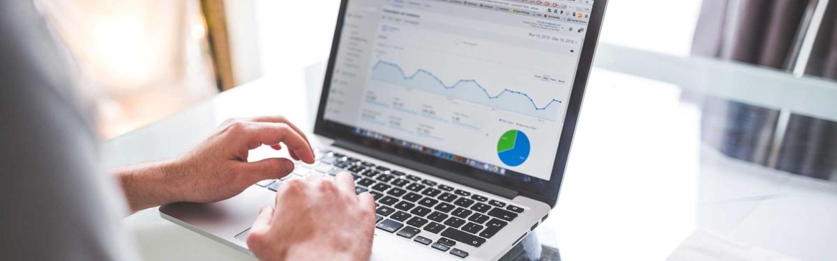image showing web analytics