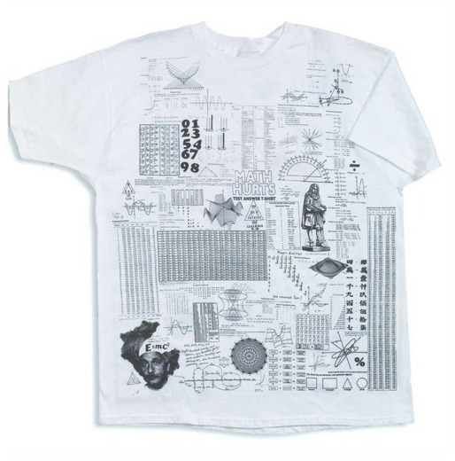 Cheat sheet math shirt