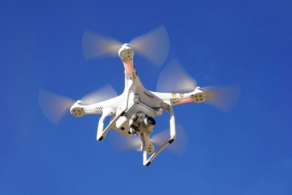 drone for survey and security in construction industry