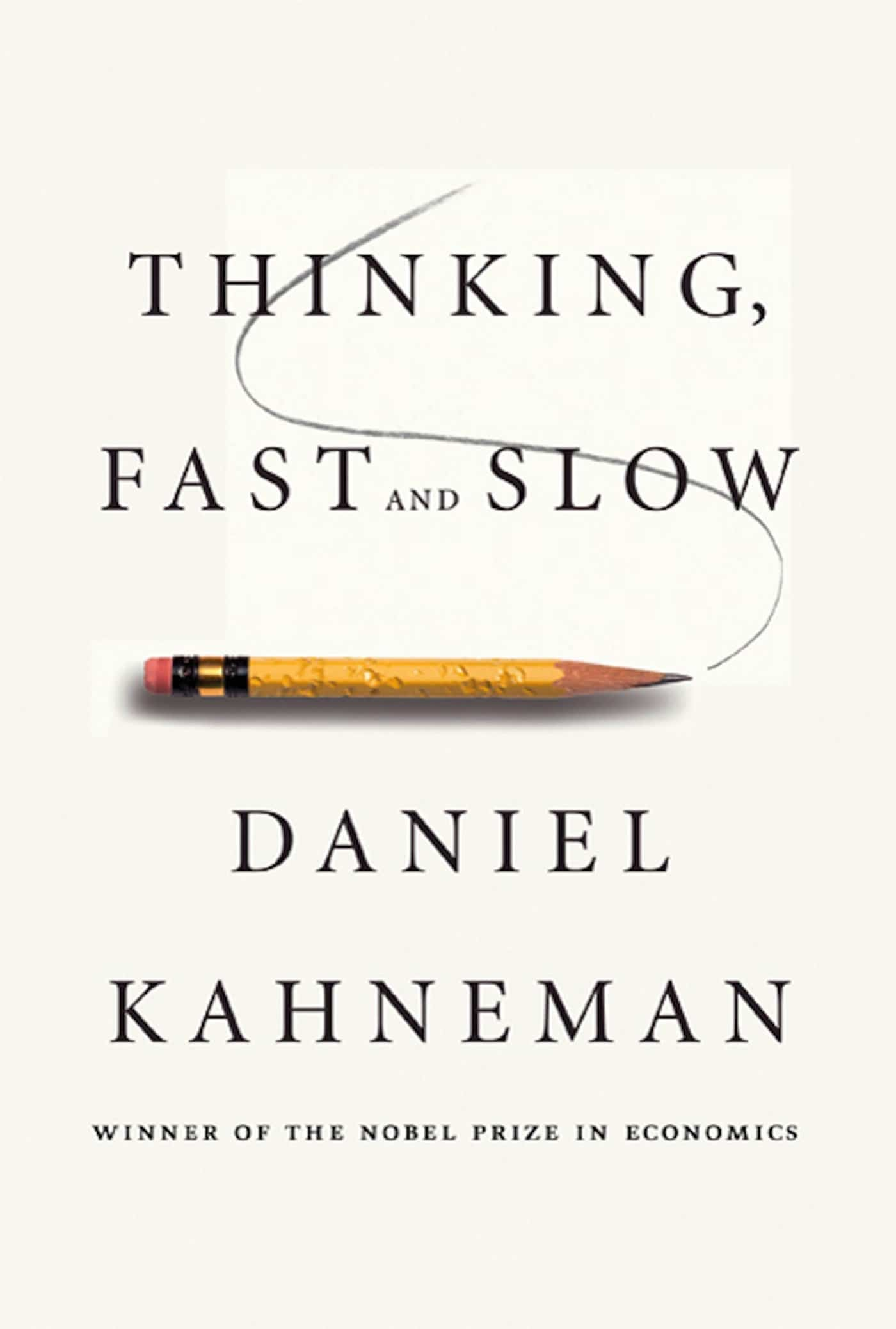 The cover of Thinking, Fast and Slow