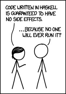 Side effects - XKCD