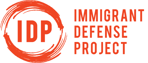 The Immigrant Defense Project
