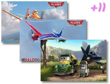 Disneys Planes theme pack
