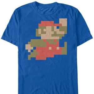 Mario Big Little M - T Shirt