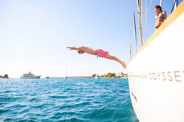 Explore above and below sea level while sailing in Greece