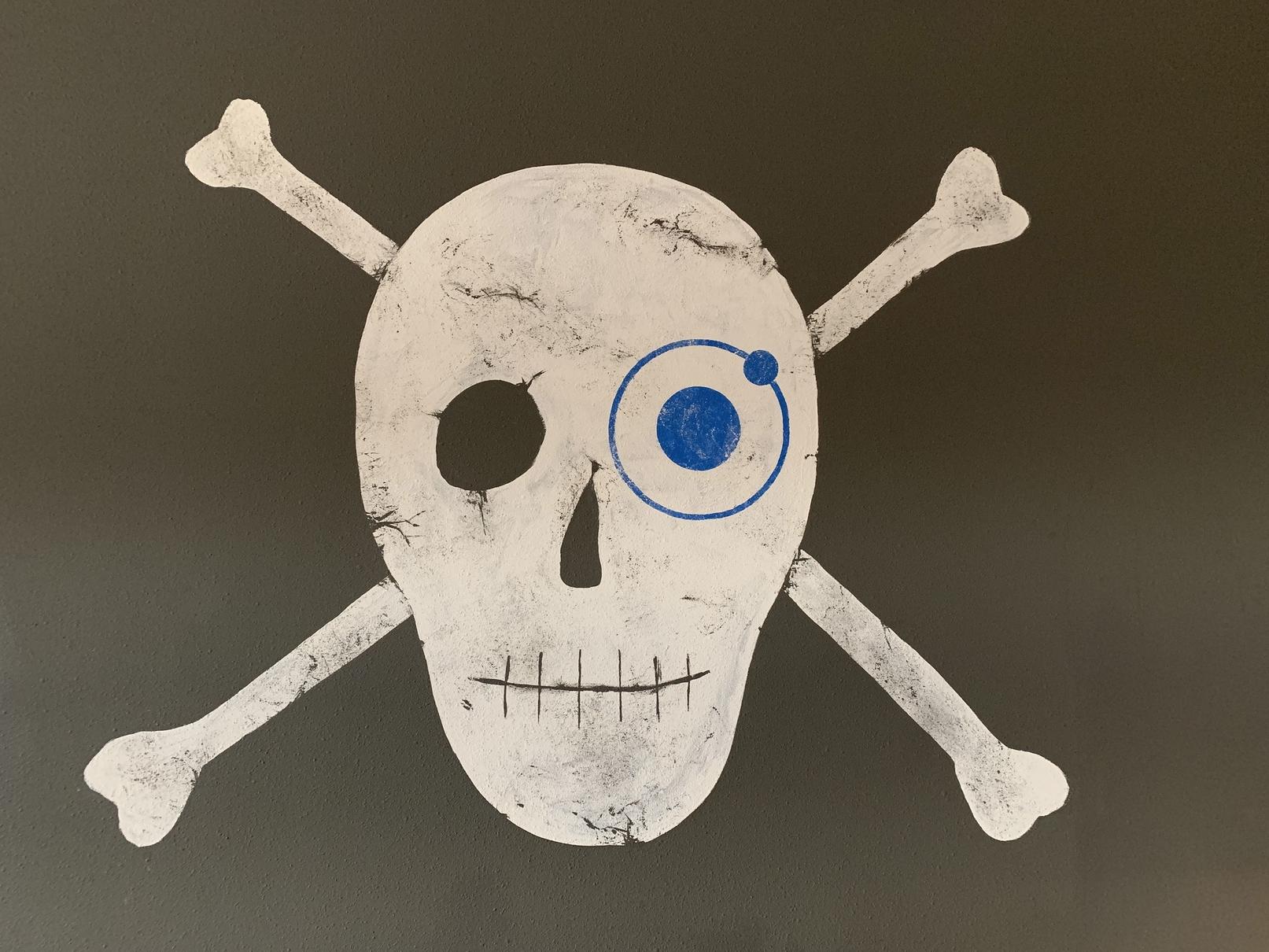 Ionic Skull Logo