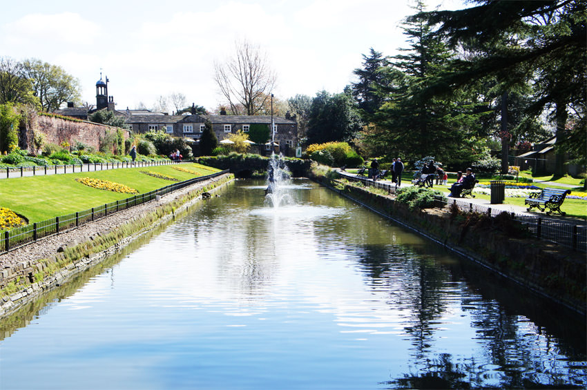 Canal Gardens at Roundhay Park
