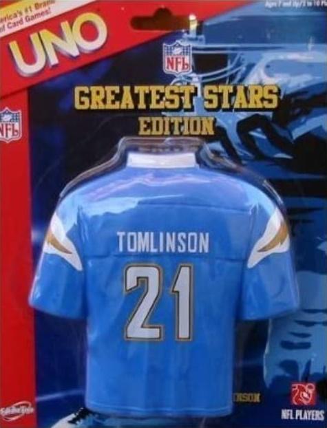 NFL Greatest Stars: LaDanian Tomlinson Uno