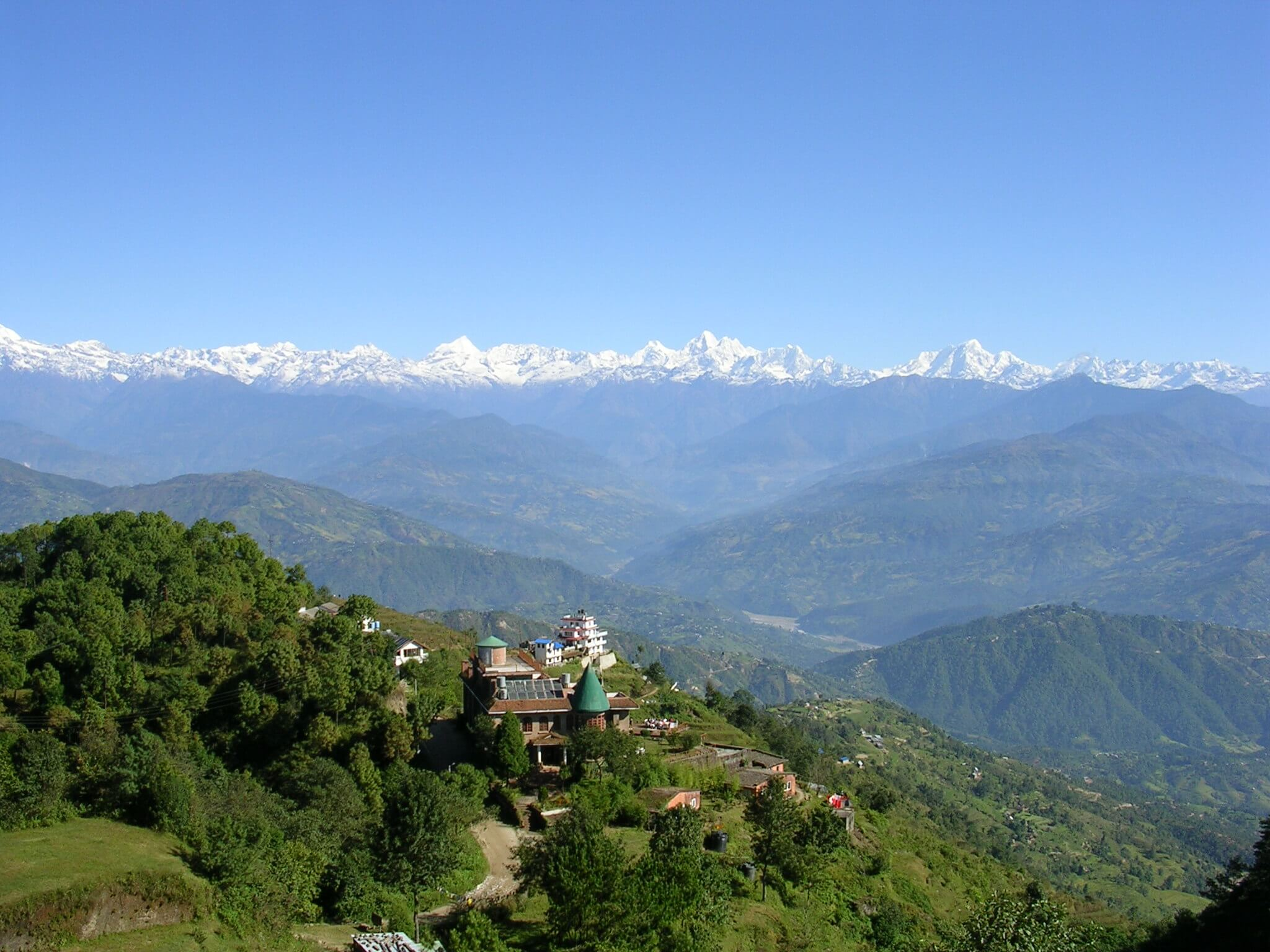 View From Nagarkot