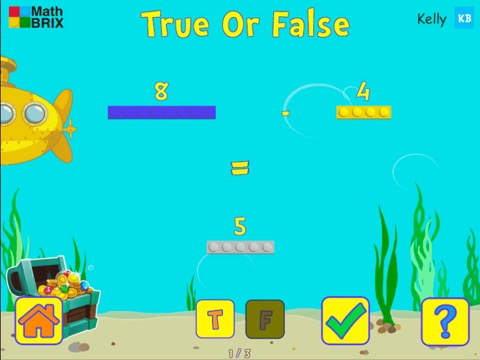 Compare a number to a number sentence (subtraction only) Math Game
