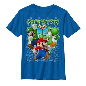Mario Super Three - T Shirt