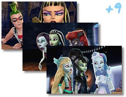 Monster High theme pack