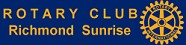 Rotary club Richmond Sunrise