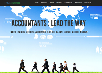 FastGrowth Website Screenshot