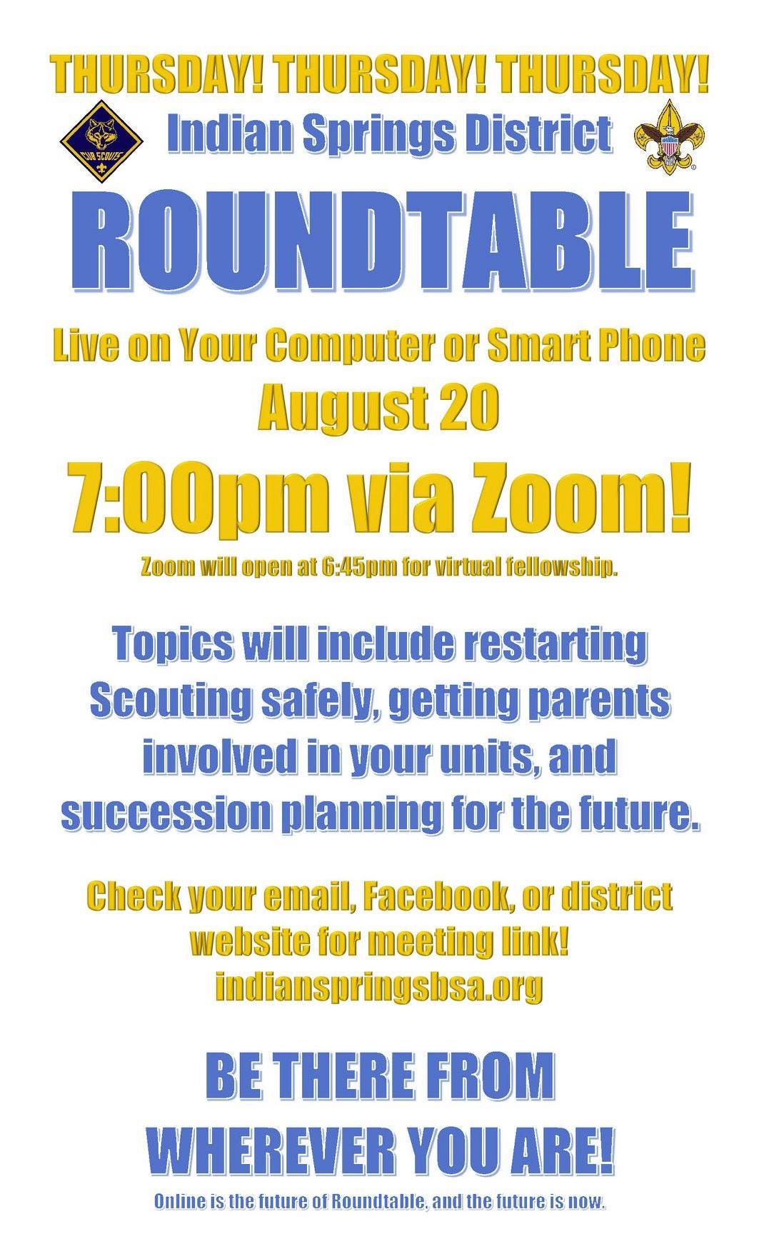 Roundtable Flyer
