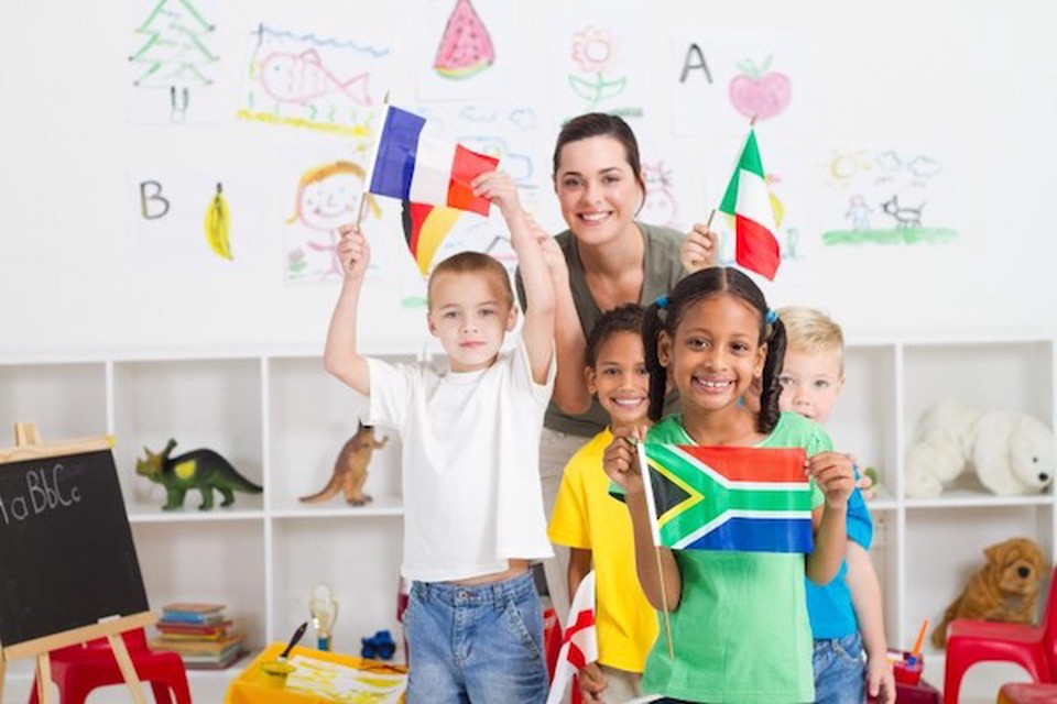 A teacher assigns a flag project to engage her diverse students using culturally responsive teaching techniques.
