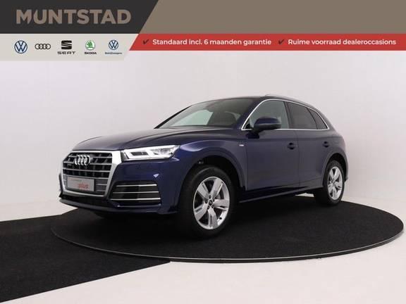 Audi Q5 50 TFSI e 299 pk quattro S edition | S-Line | Elektrisch verstelbare stoelen | Trekhaak wegklapbaar | Privacy Glass | Verwarmbare voorstoelen | Verlengde fabrieksgarantie