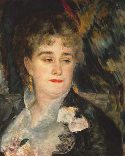 Pierre-Auguste Renoir, Mme Charpentier, c. 1876.