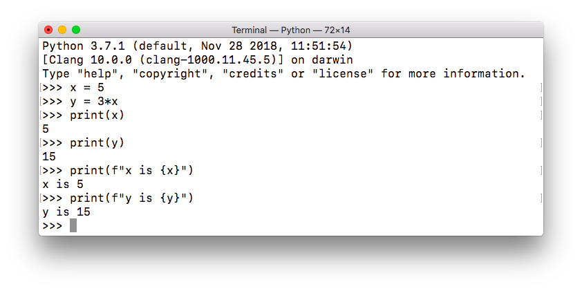 python variable formatted string