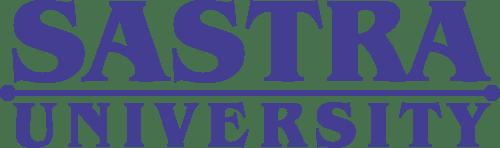Logo of Sastra University