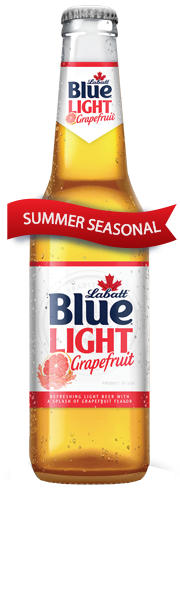 A flowing Red Banner that reads SUMMER SEASONAL designating a limited time product
