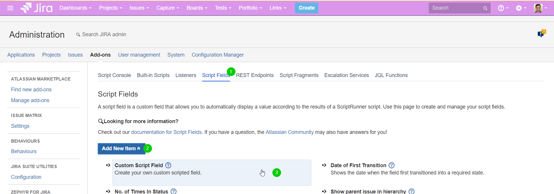How to add Portfolio for Jira Team to dashboards
