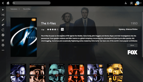 Plex running on my Raspberry Pi.