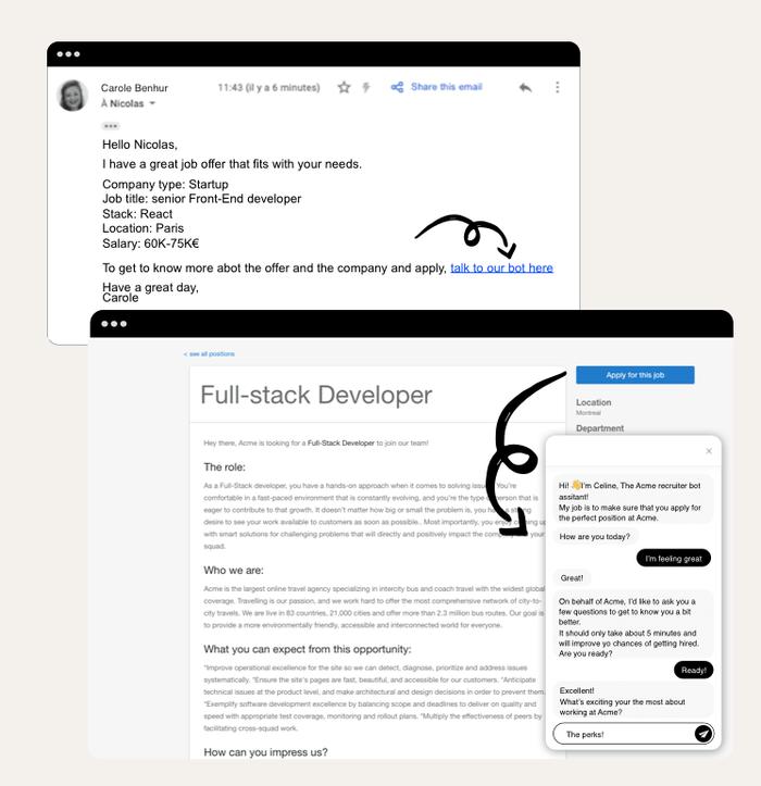 Job application bot