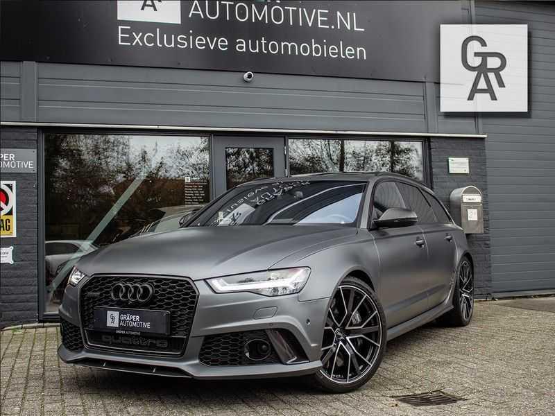Audi RS6 Avant 4.0 TFSI RS6 PERFORMANCE | KERAMISCH | CARBON | EXCLUSIVE | MILLTEK afbeelding 1