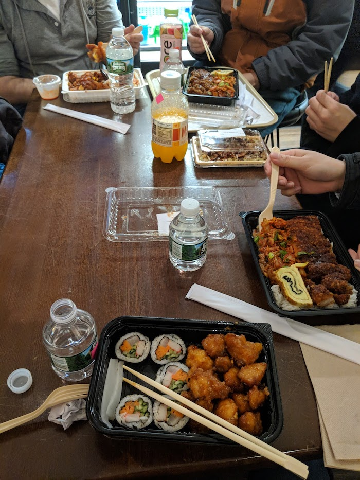 Food at Woorijip - https://moviepassmoviegoers.com/