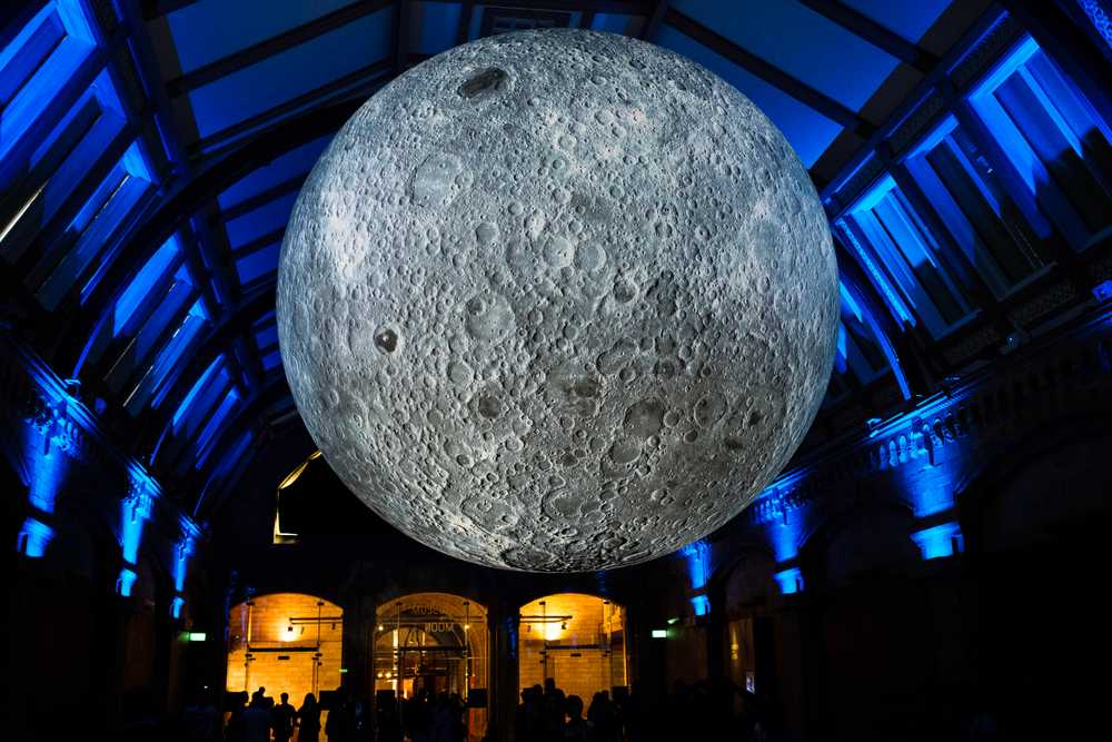 Moon Museum at the Natural History Museum