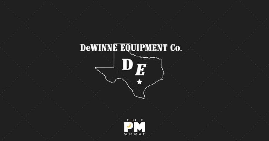 The PM Group's New Client DeWINNE Equipment Co.