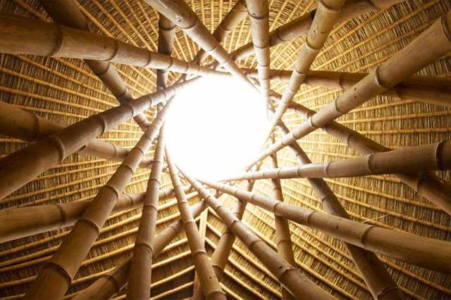 Building With Bamboo - Bamboo is unmatched as a sustainable building material. It grows quickly and doesn't destroy the land.