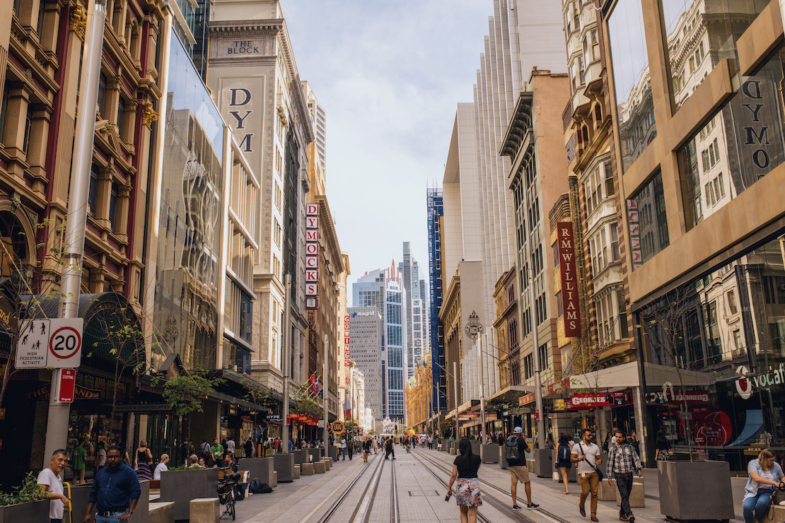 Sydney CBD (credit: Destination NSW)
