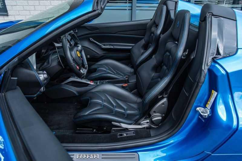 Ferrari 488 3.9 Spider HELE, 670 PK, Racing/Seats Daytona, JBL, Atelier, Blu Corsa, Liftsysteem, Scuderia Shields, 2016, 12DKM!! afbeelding 6