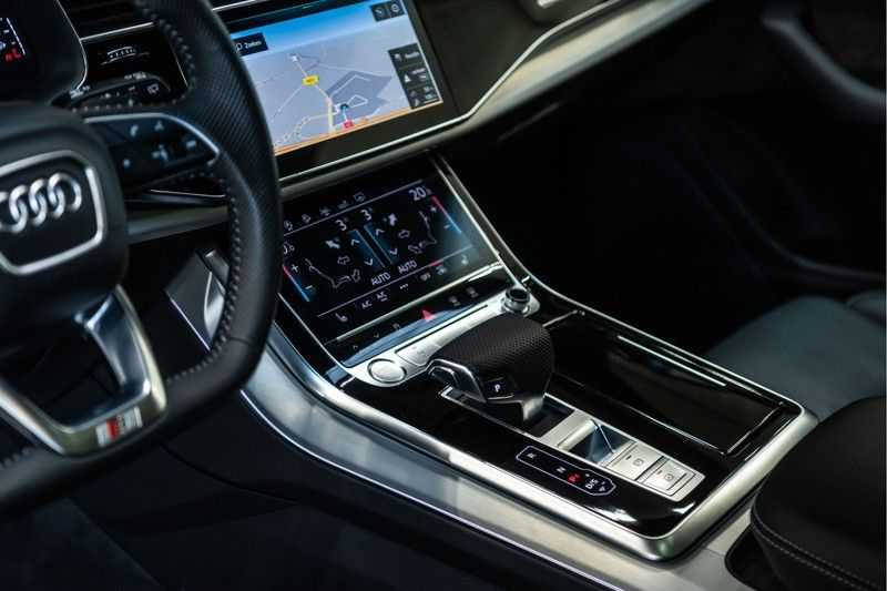 Audi Q8 55 TFSI quattro 3x S-line | PANO | 4 wielsturing | Tour | Trekhaak | Matrix LED | afbeelding 12