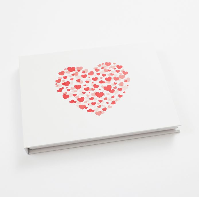 Heirloom book with love cover