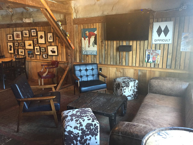 Chairs and couches in the Sea Dog loft