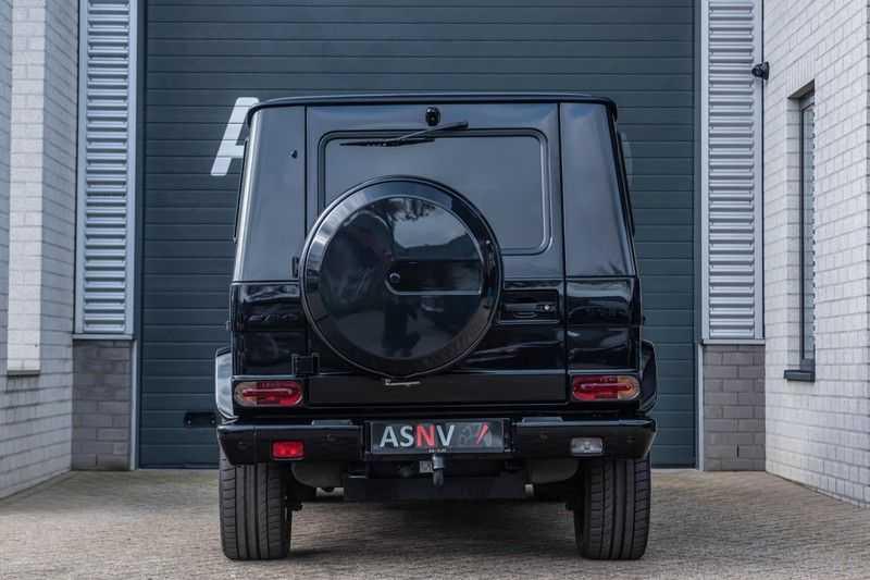 Mercedes-Benz G-Klasse 63 AMG, 571 PK, Full/Black Optiek, Schuif/-Kanteldak, TV, Harman/Kardon, Designo leder, Distronic, 57DKM!!! afbeelding 24
