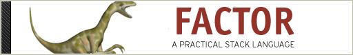 Factor Programming Language