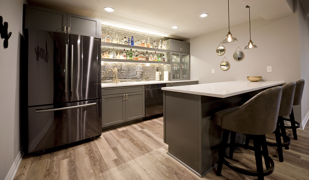 Basement Kitchens Bars Simply Basements