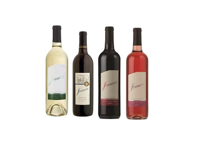 Jenesse Pink Merlot/Black Merlot/White/Dry Red Wine (750ml)