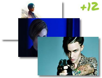 Ruby Rose theme pack
