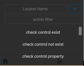 Add Action and Locator name