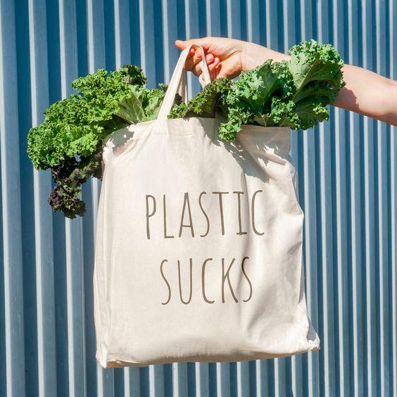 Tote bag en tissu recyclé