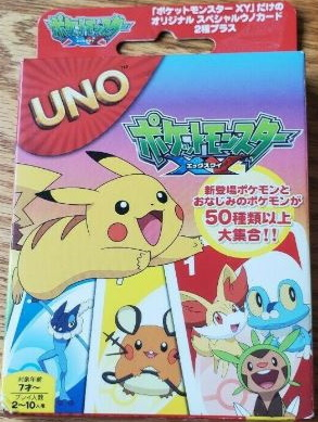 Pokemon Uno: XY